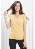 Camiseta chica cuello V
