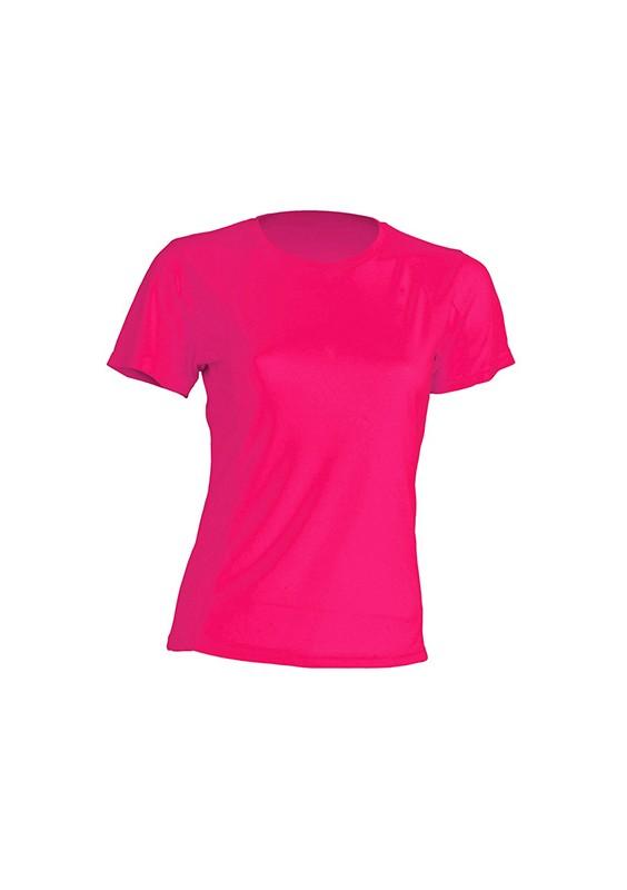 Camiseta chica SPORTLADY FLUOR
